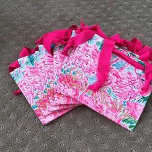 Set of 10 Lilly Pulitzer gift bags